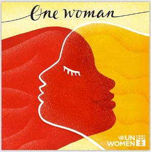 One women